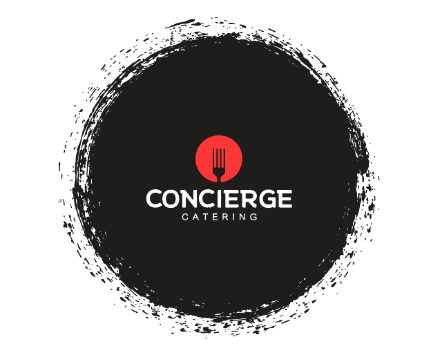 Concierge catering logo design