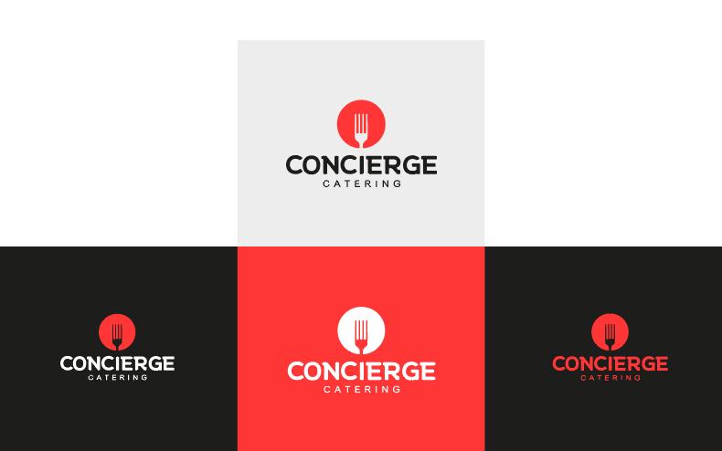 Concierge catering color palette