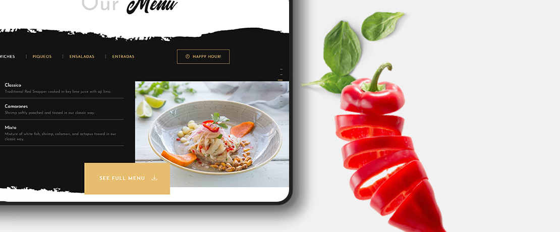 Restaurant website design 12 proven tips for designing the perfect site