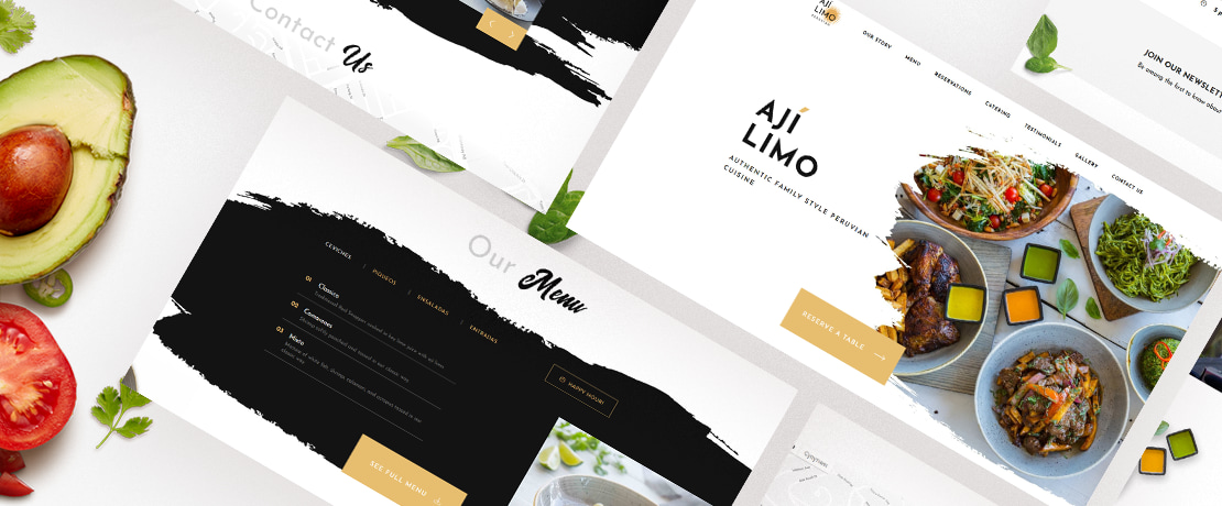 How to make your restaurant website design look greatedited