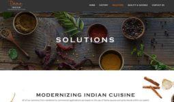 "Restaurant Website Design - Project ""Dama"""